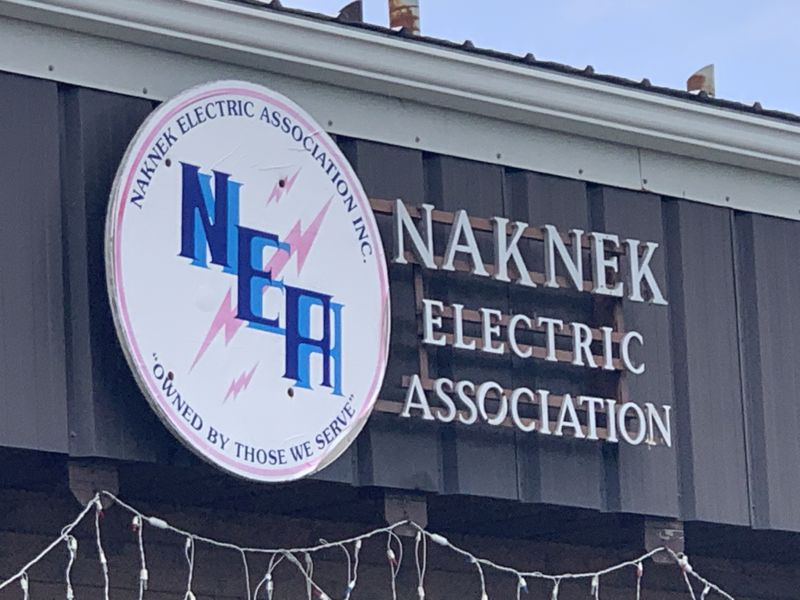 Naknak Electric Association sign