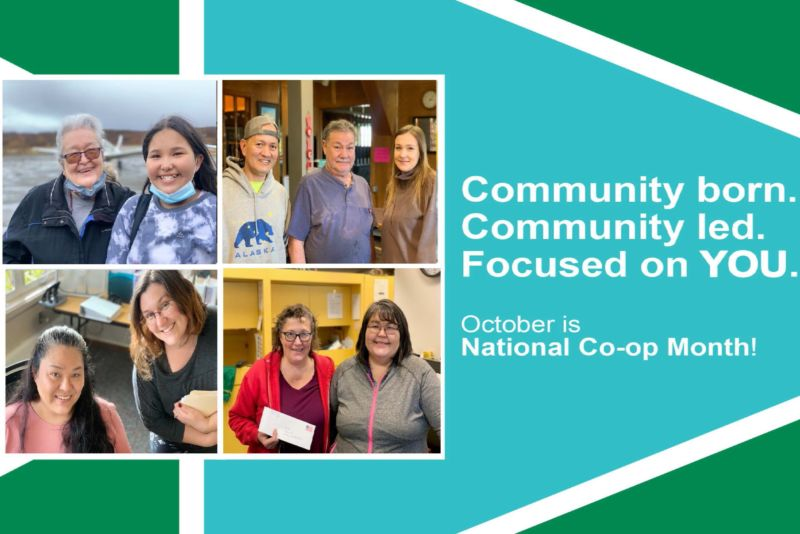 Community born. Community led. Focused on you. October is National Cooperative Month!